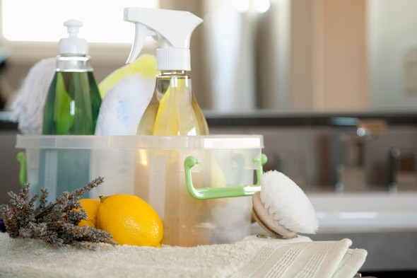 Fresh and clean and natural cleaners.