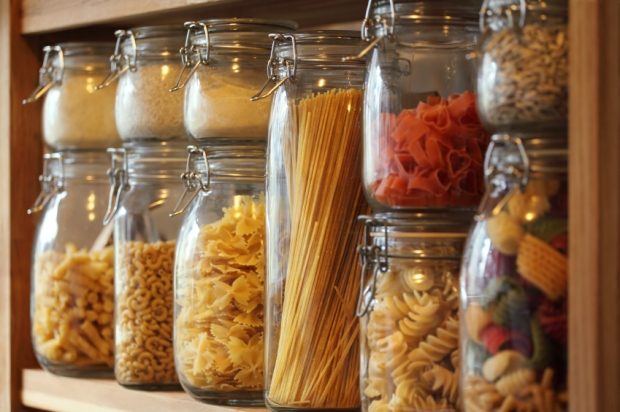 A healthy pantry