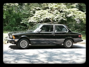 I LOVE my ride! 1982 BMW 320i. It's comfortable, stylish, and PAID IN FULL!
